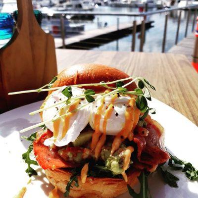 Anchor Buoy Breakfast Burger
