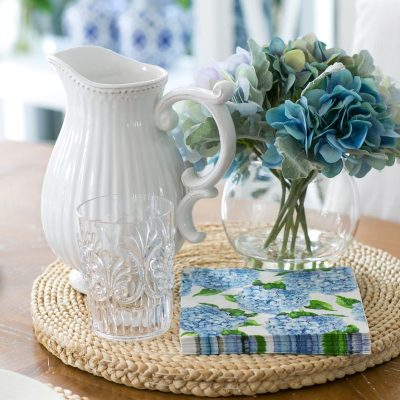 Hamptons Style Table Setting