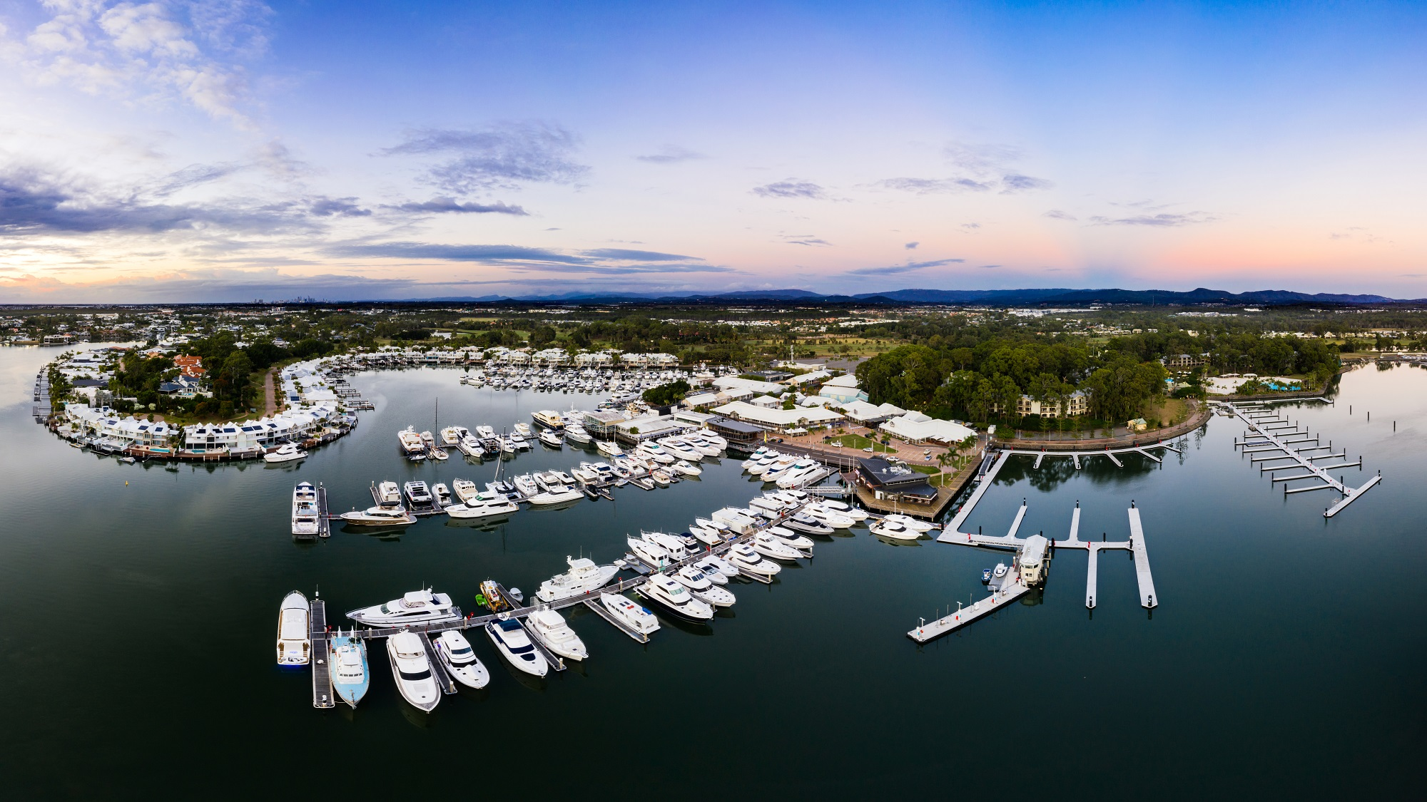 Sanctuary Cove Marina SW