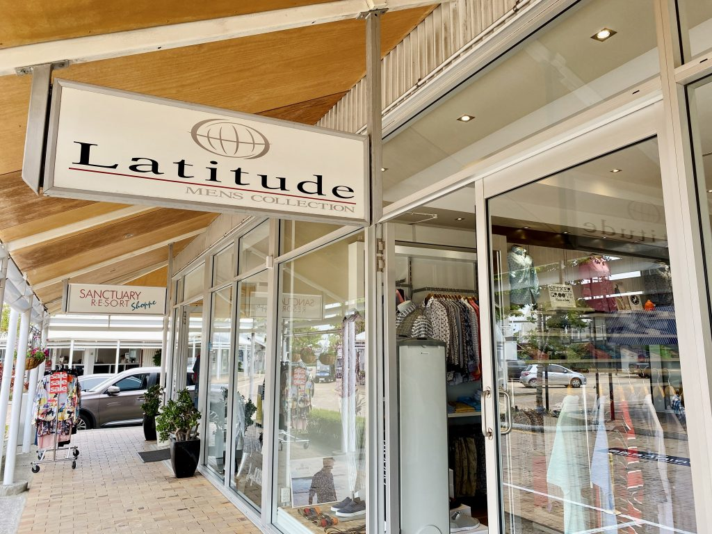 Shop Local at Latitude Men's Collection